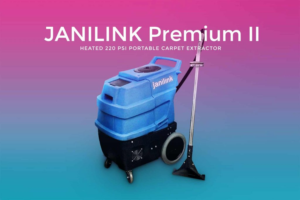 Janilink Premium II Heated Carpet Extractor