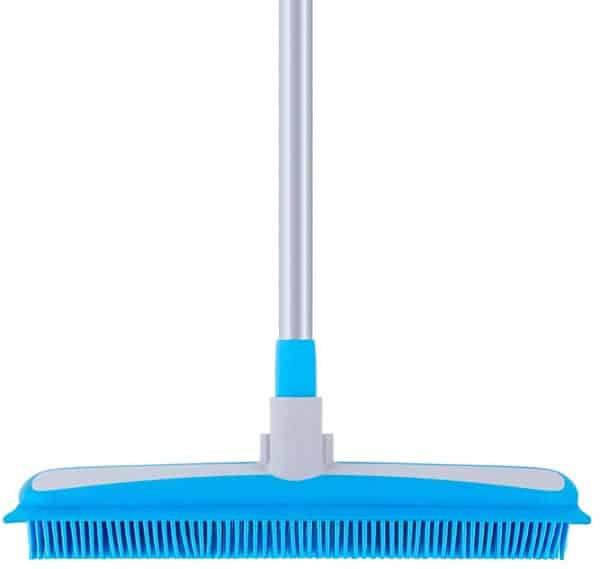 Mr Siga Soft Bristle Rubber Broom