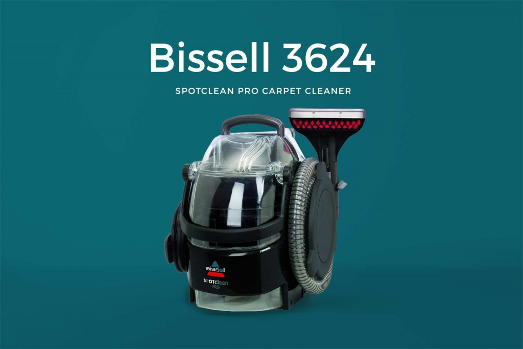 Bissell 3624 SpotClean Pro Carpet Cleaner