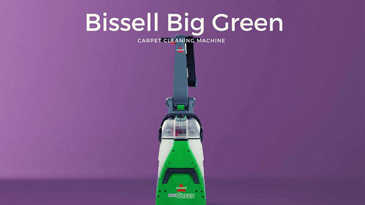 Bissell Big Green Carpet Cleaning Machine