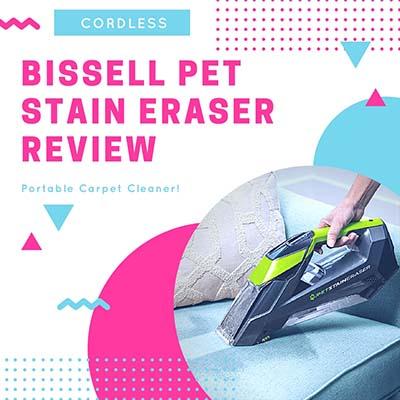 Bissell Pet Stain Eraser Cordless Side