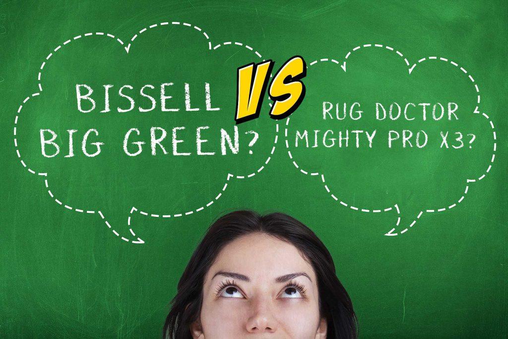 Bissell Vs Rug Doctor