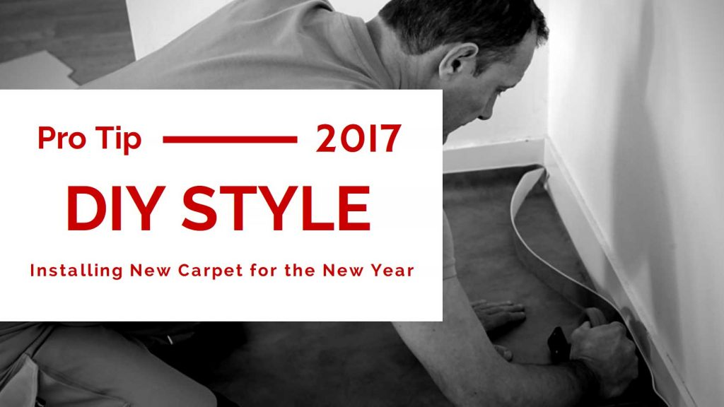 Installing New Carpet For The New Year