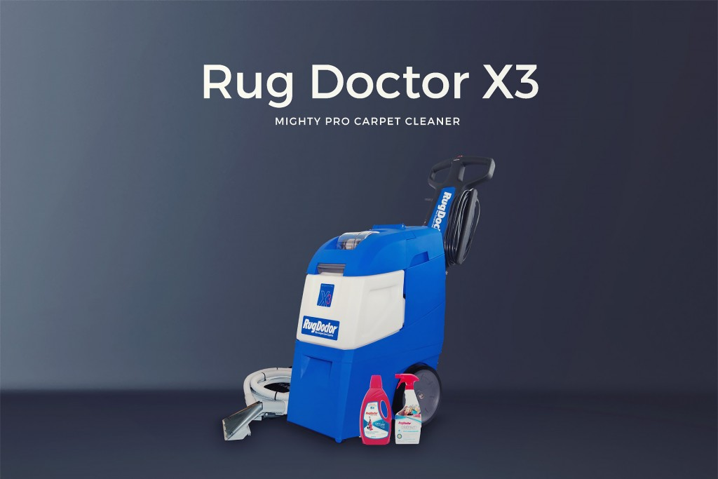 Rug Doctor Mighty Pro X3 Featured