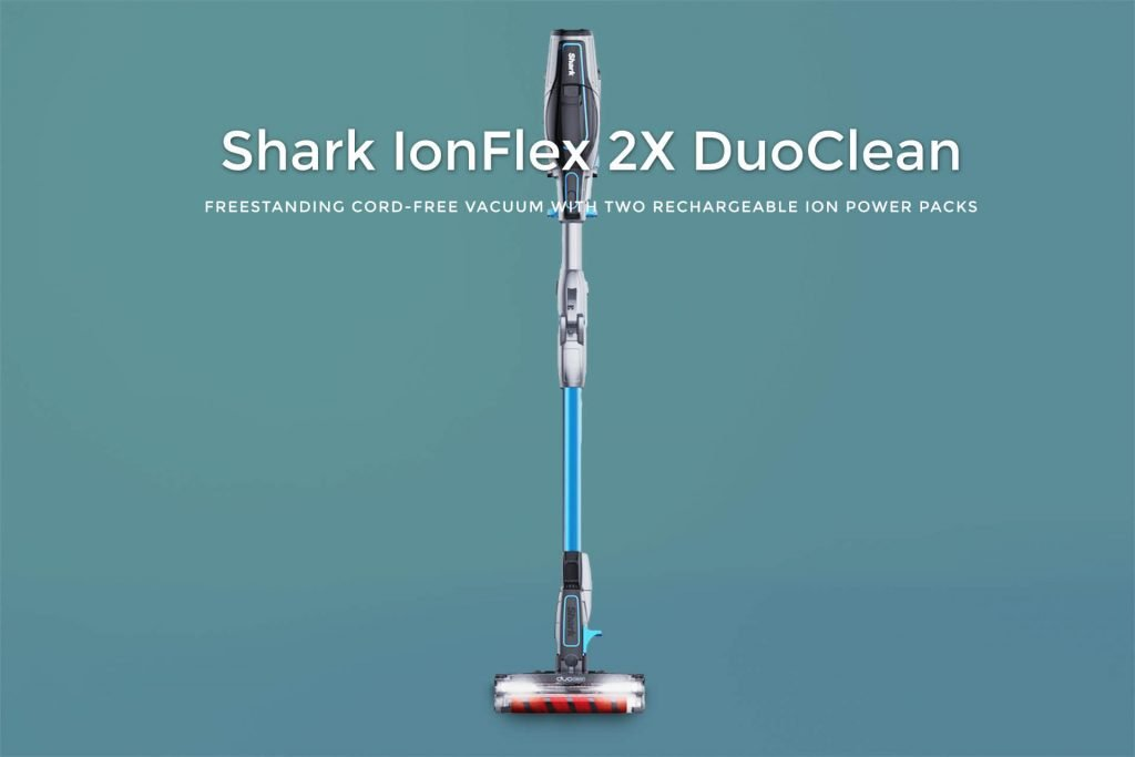 Shark IONFlex DuoClean Ultra-Light Cordless Vacuum for Pet, Carpet and Hard Floor Cleaning with MultiFlex and 2 Rechargeable Batteries (IF251)