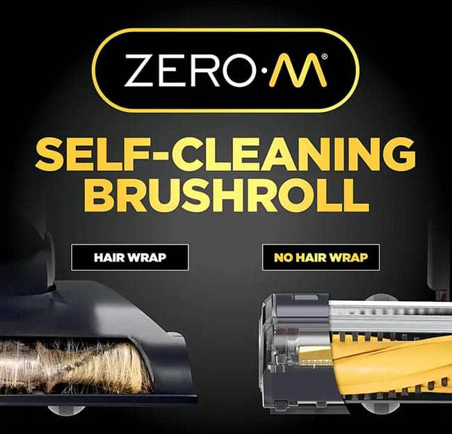 shark zero m self cleaning brushroll