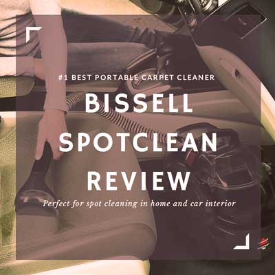 Bissell SpotClean Review Sidebar